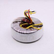 100VA الطاقة محول مرحبا فاي 100 واط مزدوجة 18 فولت النحاس النقي حلقية محول ل 1969 1875 مكبر للصوت Aduio