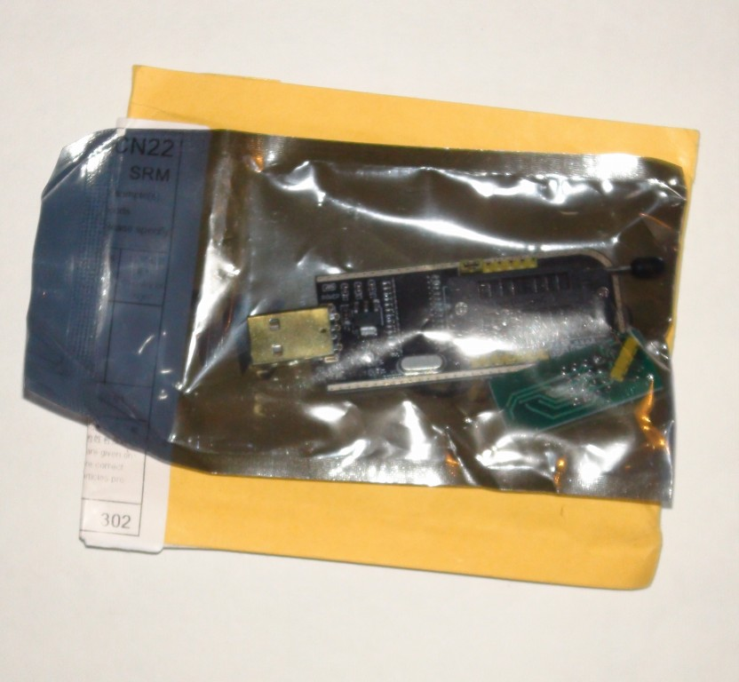 CH341A CH341 24 25 Series EEPROM Flash BIOS USB Programmer with Software & Driver