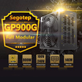 Segotep 800 w gp900g completo modular atx fonte de alimentação do desktop fonte de jogos psu 12 v ativo pfc sli pronto 91% eficiência 80 mais ouro