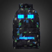 Minecraft Toddler Backpack High Quality Printing Backpack Schoolbag Canvas Travel Bags Drop Shipping Factory Directly