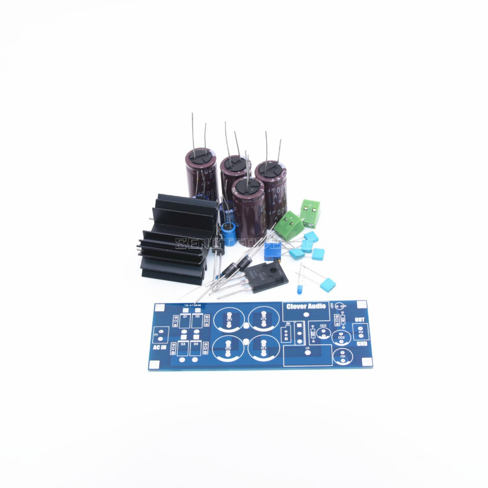 Diy Kit Lt1083 High Power Linear Variable Regulated Dc Supply Board In Amplifier From Consumer Electronics On Alibaba Group