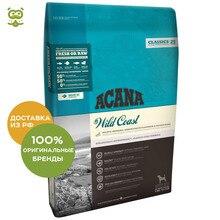 Корм Acana Dog Wild Coast для щенков и взрослых собак, Рыба, 6 кг.