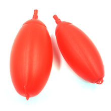 MNFT 20Pcs/Lot Plastic Red Fishing Floats Ball Boia Float Big Belly Large Buoyancy Sea Fishing Float Accesories