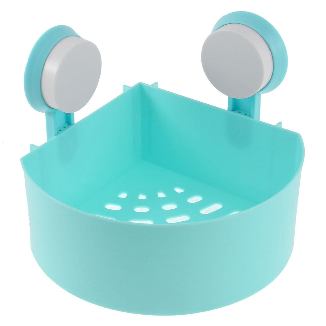 UXCELL Kitchen Bathroom Shower Suction Cup Storage Rack Organizer ...