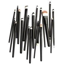 20Pcs/Set Pro Makeup Powder Foundation Eyebrow Eyeshadow Lip Cosmetic Brush Kit