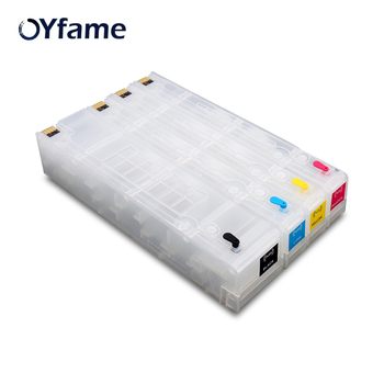 OYfame Compatible For HP 970 971 Ink Cartridge For Officejet X451dn x451dw X551dw X476dn Refillable Ink Cartridge With ARC Chip