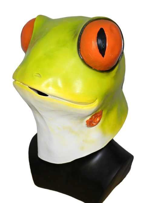 רעל דארט צפרדע מסכות גיבור מושיע תלבושות סרט מלא על ראש אטקס מסכת למסיבה אבזרי קוספליי מסכות