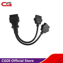 Newest ELM327 2 In 1 Converted cable OBD2 Extension Cable