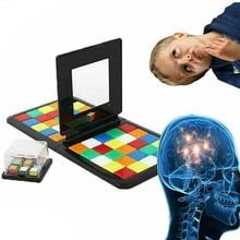 Обучающие игрушки, Магическая игра-блок,, игра в мозги для детей и взрослых, обучающая красочная игрушка, настольная игра, Кубик Рубика, битва