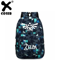 XCOSER The Legend of Zelda: Breath of the Wild Zelda Backpack Oxford Cloth Large Capacity Travel Essencial Cosplay Prop