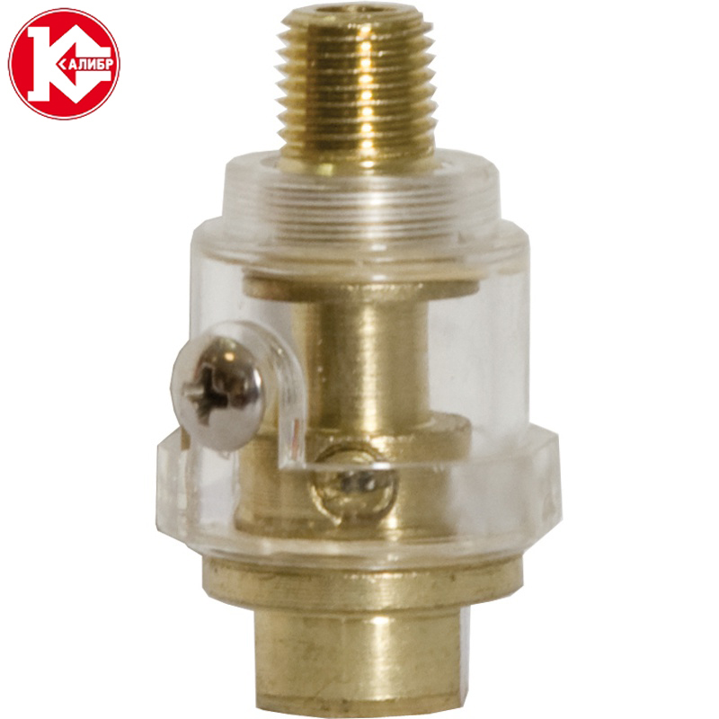 цена на Kalibr F-0.8M Lubricator for Pneumatic Tool & Air Compressor Pipe Air Tool Oiler