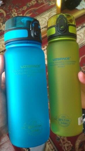 Explosion Sport Water Bottles 500/650ML 1L Protein Shaker Outdoor Travel Portable Leakproof Tritan plastic Drink Bottle BPA Free