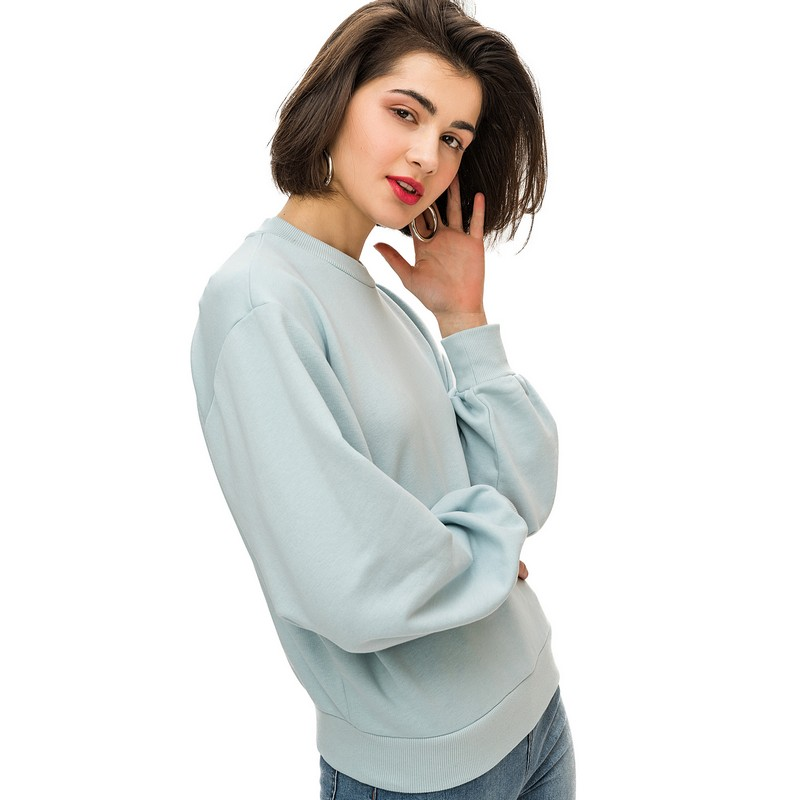 Sweaters jumper befree for female cotton sweater long sleeve women clothes apparel  turtleneck pullover 1811613435-19  TmallFS trendy scoop collar long sleeve black loose fitting sweater for women