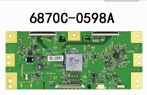 6870C-0598A Connect With Logic Board T-CON Full Test