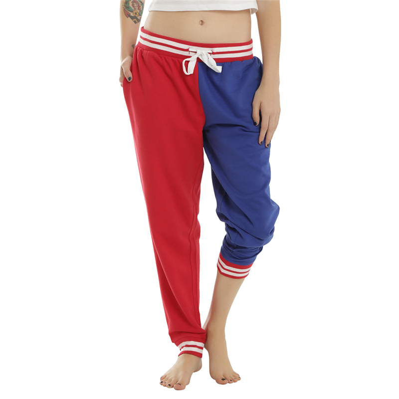 Suicide Squad Harley Quinn Property of Joker Girls Jogger Pants Spring & Autumn Hiphop Cosplay Casual Pants Women Valentine Gift