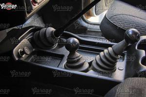 Image 4 - קונסולת של מרכז מנהרת לאדה ניבה 4X4 1995 על רצפה בסלון ABS פלסטיק פונקציה אביזרי ארגונית רכב סטיילינג כוונון