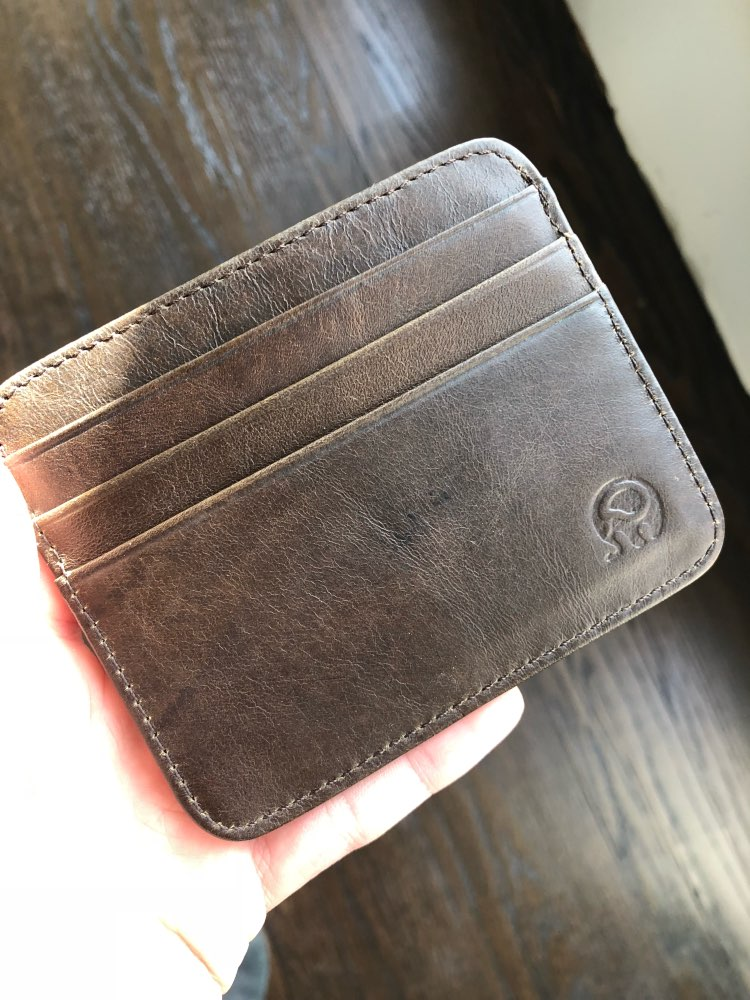 NEW Genuine Leather magic wallet Credit Cart Wallet mini slim wallet card & id holders man women business credit card holder photo review