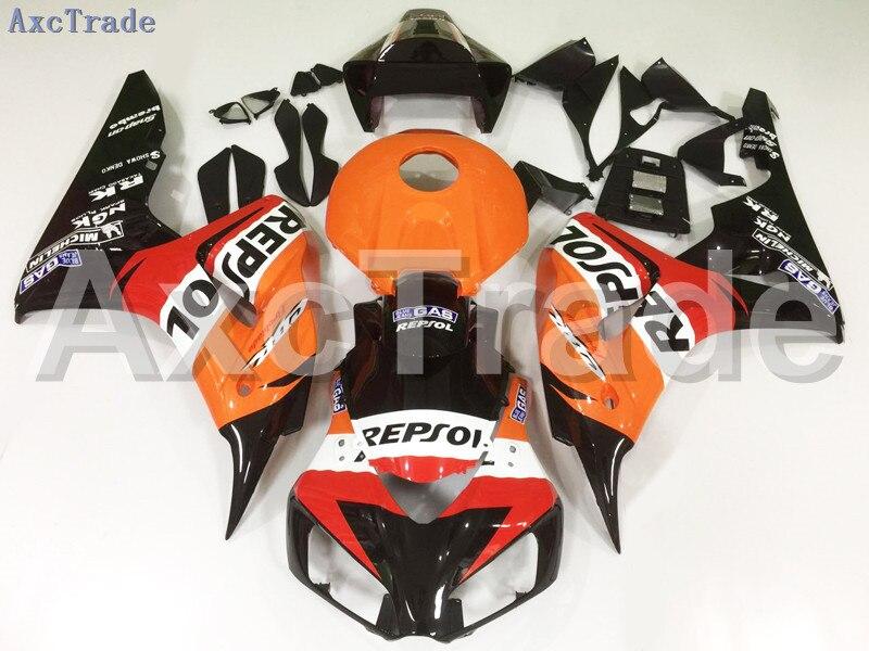 Motorcycle Fairings For Honda CBR1000RR CBR1000 CBR 1000 2006 2007 06 07 ABS Plastic Injection Fairing Bodywork Kit Yellow A121