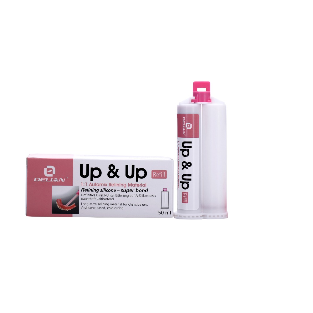 Up & Up  Refill Relining Material Permanent Relining Material Dental Silicone Product Super BondUp & Up  Refill Relining Material Permanent Relining Material Dental Silicone Product Super Bond