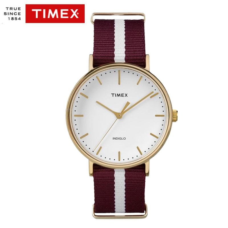 Timex  Unsex Men Women Watches TW2P976 Simple Casual Waterproof Nylon Strap Quartz Men Watches timex t5k801