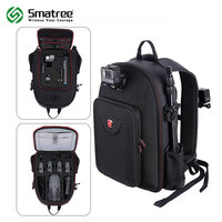 Smatree Hard Case Water Resistant Backpack For DJI Mavic Pro GoPro Hero Session Hero 6 5