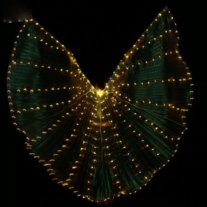 Image 4 - Hot Selling Bellydancing LED Isis Wings Nice Oriental Dance Accessory LED Wings Sexy Stage Show Props Wings 5 colors