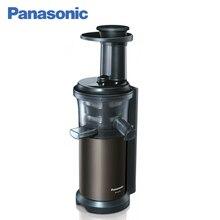 Panasonic MJ-L600STQ Шнековая соковыжималка, 150 Вт, Выжимает максимум сока, Дольше сохраняет сок вкусным без расслаивания