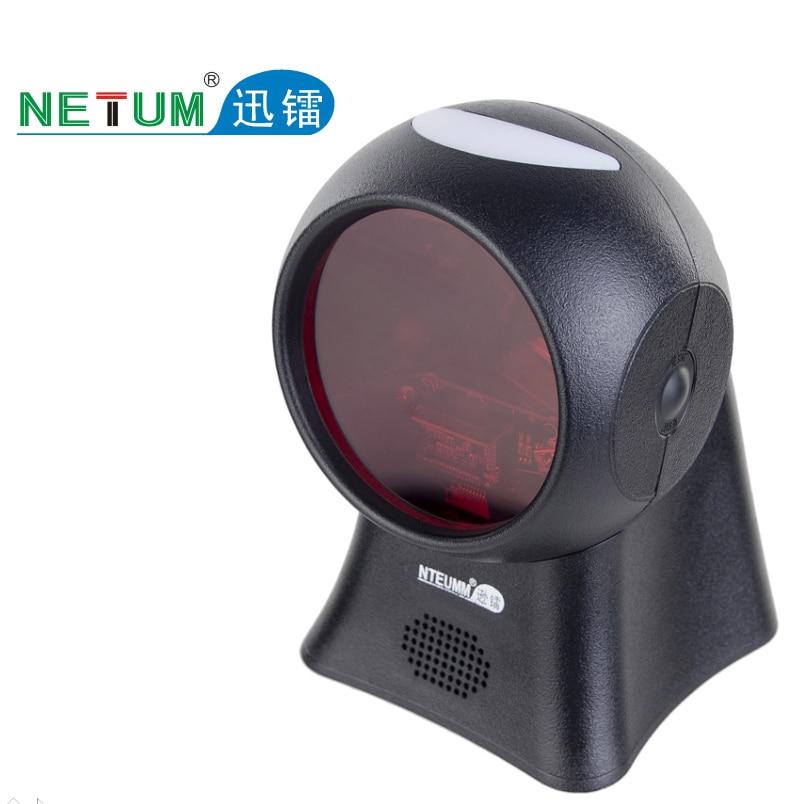 Netum Планшетный Сканер Штрих-Кода 20 Линии Рабочего Всенаправленный Лазерный Считыватель Штрих-кода для Супермаркетов HW-LOD20