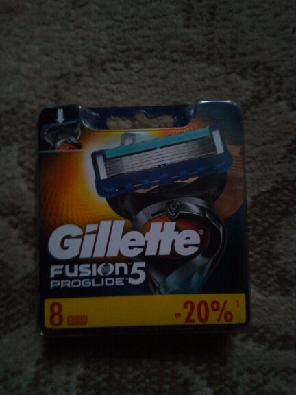 Removable Razor Blades for Men Gillette Fusion ProGlide 5 Blade for Shaving 8 Replaceable Cassettes Shaving Fusion Cartridge-in Razor from Beauty & Health on AliExpress