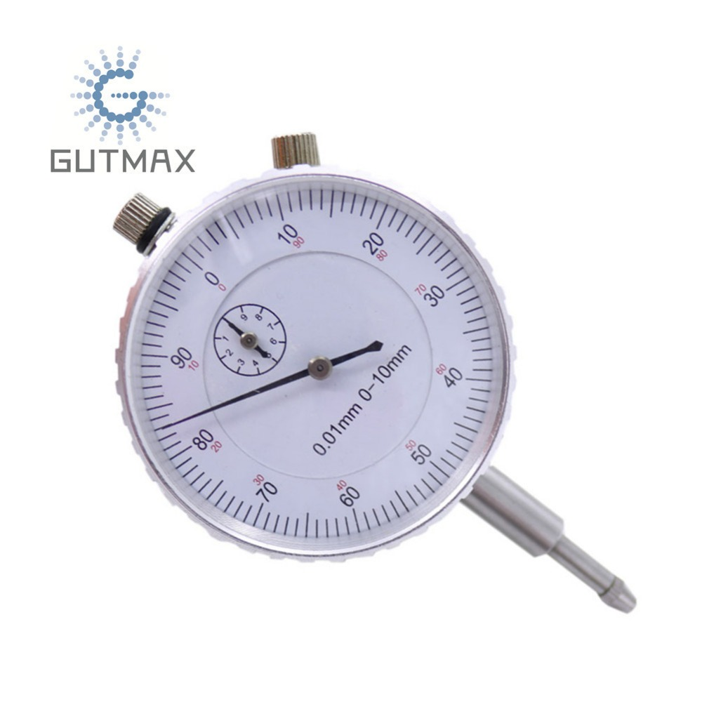 0-10mm Dial Indicator Mesure Instrument Tool Indicators Gauge Dial Meter Calibration Table Scale Accuracy 0.01mm BFB-HY05