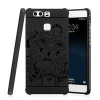 For Coque Huawei P9 P 9 EVA L19 L09 L29 AL00 Case Flip Leather Phone Silicone