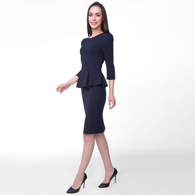 Платье с баской Gloria Jeans GDR015333 (1000005286405) 2