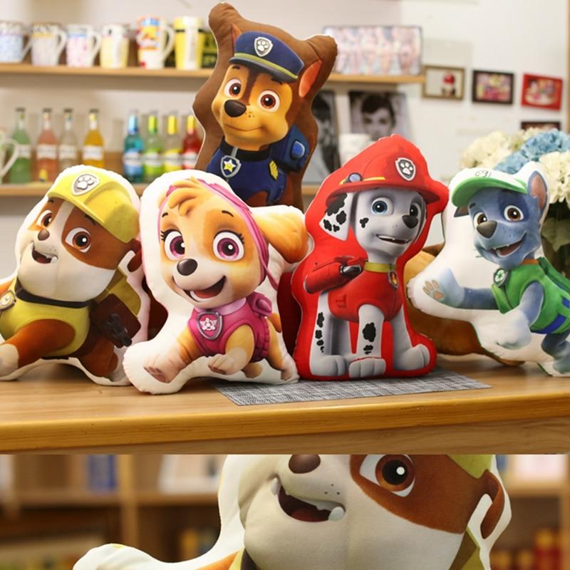 Drop Shipping Two Shape 3D Cartoon Image Dog Puppy Double Sides - Мягкие и плюшевые игрушки