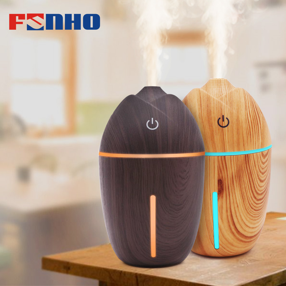 FUNHO Mini Air Humidifier Aroma Essential Oil Diffuser USB Charging Mist Maker Humidificador 5 LED Light for Home Office Car 078 funho aroma diffuser mini air humidifier oil humificador aromaterapia para casa 5 color selectable for home office car 078