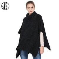 FS manta de invierno bufanda para las mujeres Outwear Cachemira marca de lujo poncho CAPES shawl femenino inverno lana Ladies oversized Coat