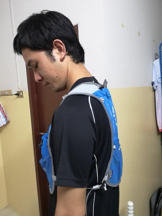 AONIJIE Для женщин Для мужчин легкий Бег Рюкзак Спорт на открытом воздухе Trail гонки марафон Пеший Туризм Фитнес сумка жилет гидратации пакет