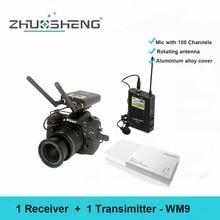 ZhuoSheng WM9 беспроводной нагрудный микрофон для записи камеры Vlog/Youtube
