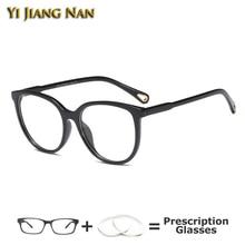 Yi Jiang Nan Brand Round Fashion Designer Women Glasses Frame Eyelasses Lentes Mujer Eyewear Spectacles Occhiali Da Vista Donna тумба для ванной комнаты с раковиной iddis cal80w0i95 0066000i28