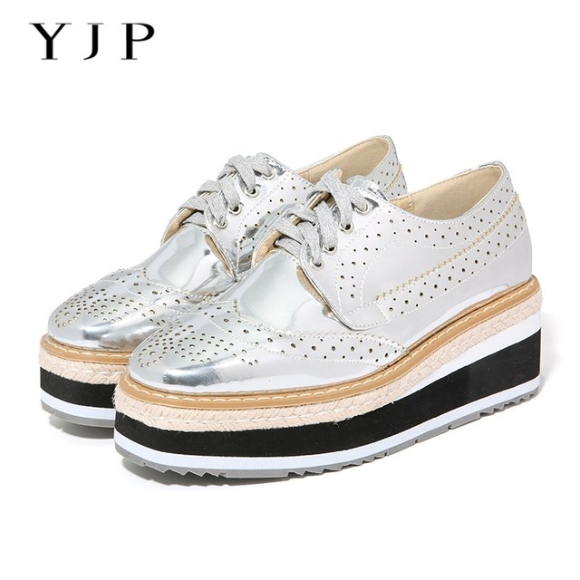 YJP Women Flat Platform Shoes e25e02839
