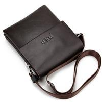 New Arrived POLO Genuine Leather Men S Messenger Bag Mini Fashion Shoulder Bag Cross Body Bag