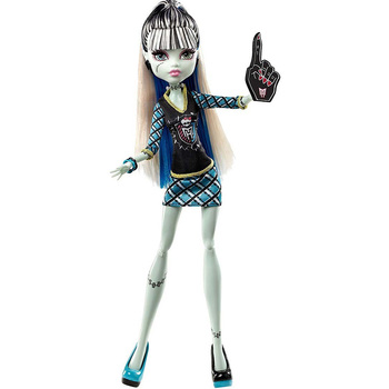 Doll Monster High Frankie Stein-Band support