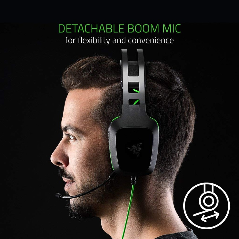 Image 3 - Original Razer Electra V2 3.5mm Gaming Headset 7.1 Surround Sound with Detachable Mic for PC/Xbox One/PS4/Laptop Headphone Gamer-in Headphone/Headset from Consumer Electronics