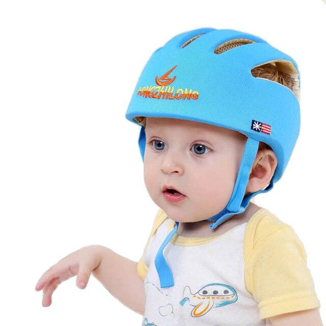 Sombrero de protección infantil casco de seguridad para los bebés ...