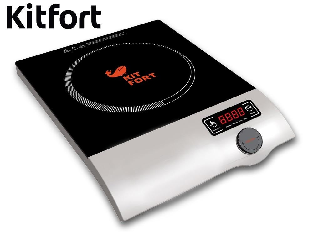 Induction tile Kitfort KT-108 Induction cooker Kitfort Cooking panel Electric Plate Tile electric range Induction tile furnace xiaomi mijia induction heating rice cooker 2