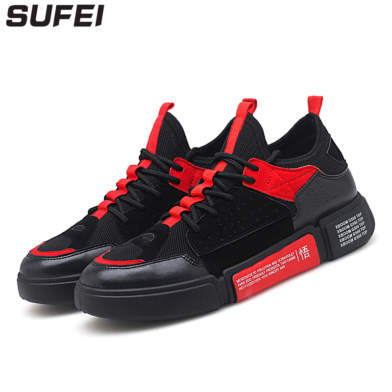 sufei Men Running Shoes Mesh Outdoor Walking Shoes Breathable Light Flywire Sports Jogging Athletic Sneakers