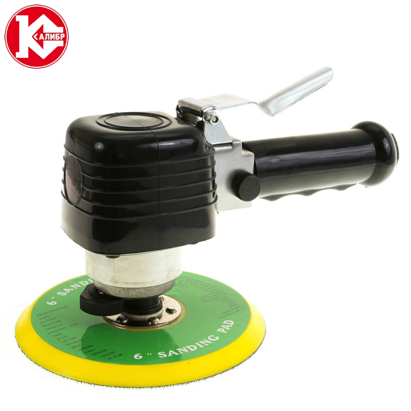 Kalibr PESHM-6.3/150 Pneumatic Sander Pneumatic Polishing Machine Air Sanding Grinder Tool kalibr polyurethane compressor hose 10m polyurethane pu air compressor hose tube pneumatic hose pipe for compressor air tool