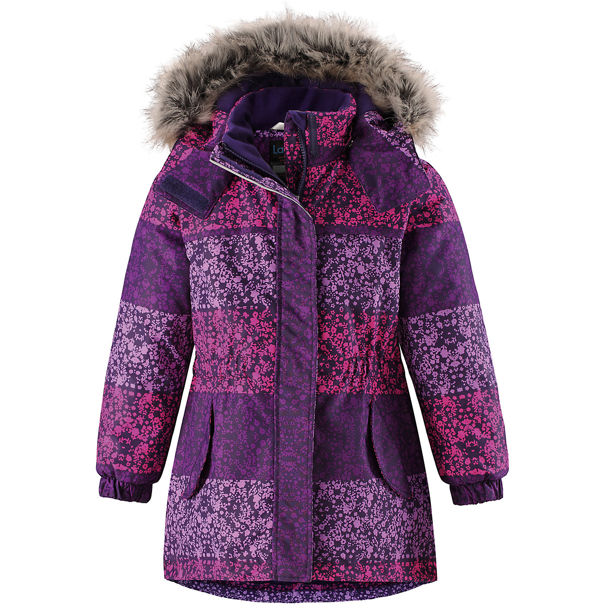Jackets & Coats LASSIE for girls 8627038 Jacket Coat Denim Cardigan Warm Children clothes Kids hirsionsan large raccoon fur collar parka winter jacket women 2017 new korean fashion corduroy outwear thick warm hooded coat