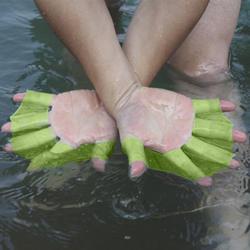1 пара детей силикон для взрослых лопатки для плавания Ласты плавательные ласты для рук погружения