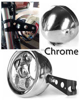 30W 45W 5 75 INCH Chrome Round Headlight Offroad Light Waterproof With Chrome Bracket For Harley