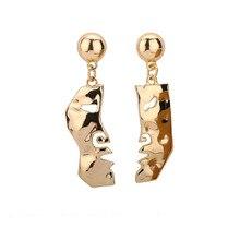 Mask eardrop European and American wind zinc alloy earrings fashion of ms